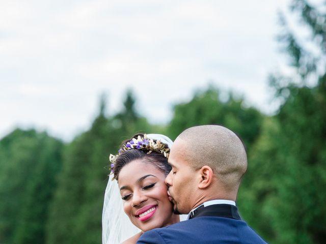 Le mariage de Eddy et Cristelle à La Boissière-École, Yvelines 78