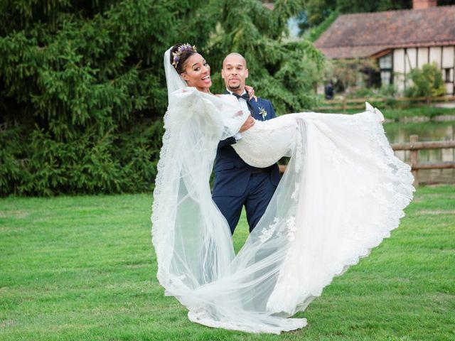 Le mariage de Eddy et Cristelle à La Boissière-École, Yvelines 81