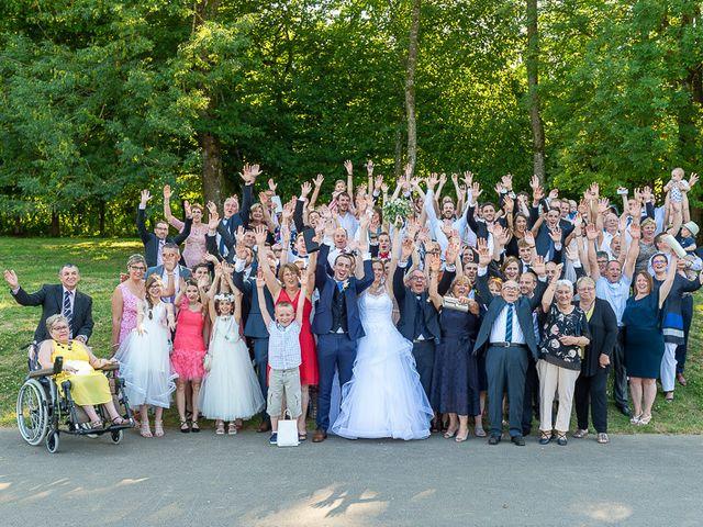 Le mariage de Clément et Amandine à Beuvillers, Calvados 22