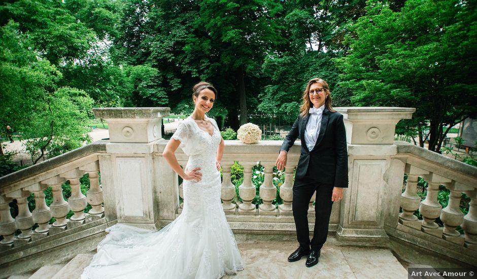 Le mariage de Emmanuelle et Olga à Paris, Paris
