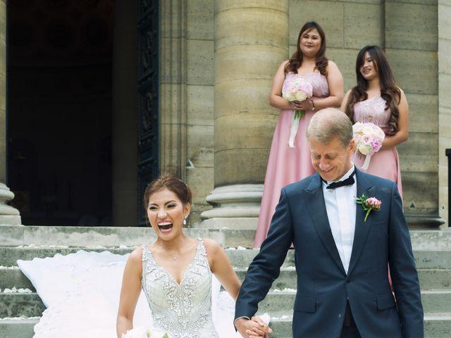 Le mariage de David et Elle à Paris, Paris 96