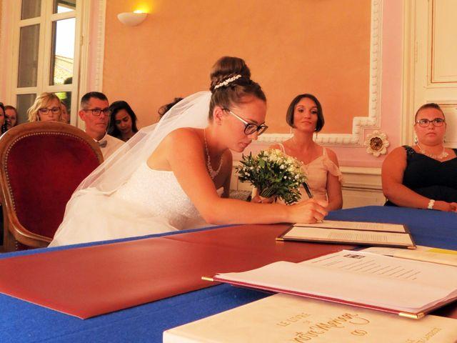 Le mariage de Valentin et Justine à Allan, Drôme 7