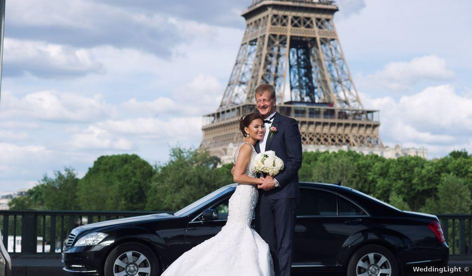 Le mariage de David et Elle à Paris, Paris