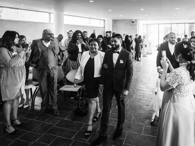 Le mariage de René et Justine à Coupvray, Seine-et-Marne 12