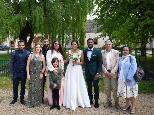 Le mariage de René et Justine à Coupvray, Seine-et-Marne 92