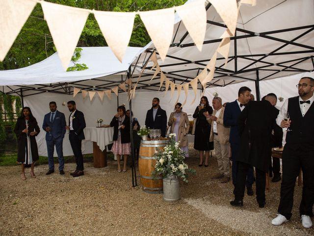Le mariage de René et Justine à Coupvray, Seine-et-Marne 110