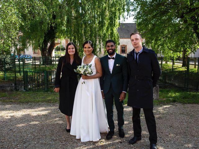 Le mariage de René et Justine à Coupvray, Seine-et-Marne 130