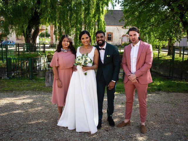 Le mariage de René et Justine à Coupvray, Seine-et-Marne 131