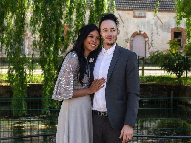 Le mariage de René et Justine à Coupvray, Seine-et-Marne 145