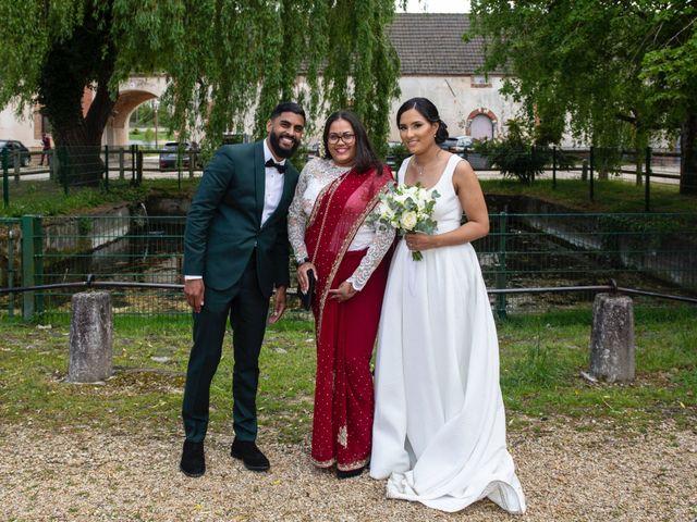 Le mariage de René et Justine à Coupvray, Seine-et-Marne 161