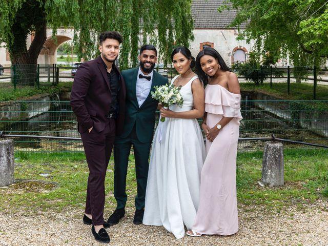 Le mariage de René et Justine à Coupvray, Seine-et-Marne 164