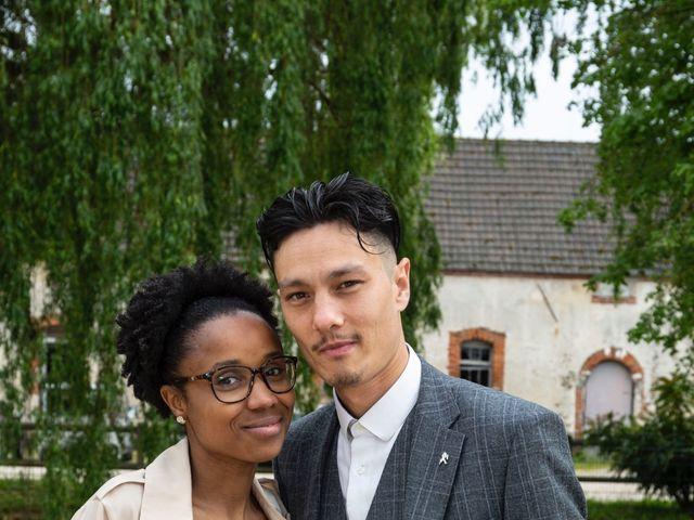 Le mariage de René et Justine à Coupvray, Seine-et-Marne 187
