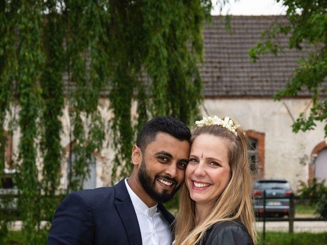 Le mariage de René et Justine à Coupvray, Seine-et-Marne 201
