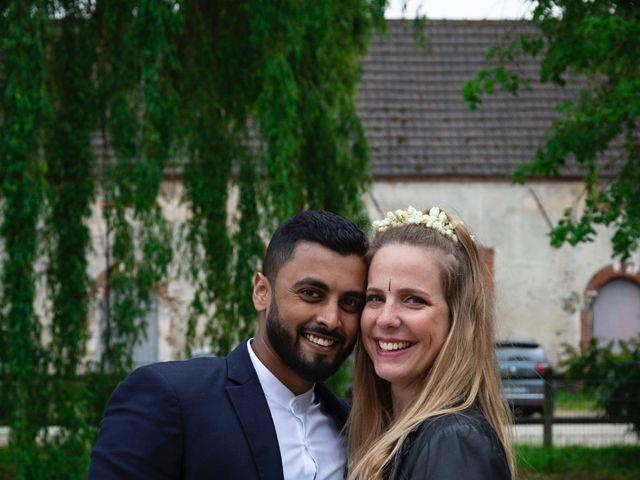 Le mariage de René et Justine à Coupvray, Seine-et-Marne 202