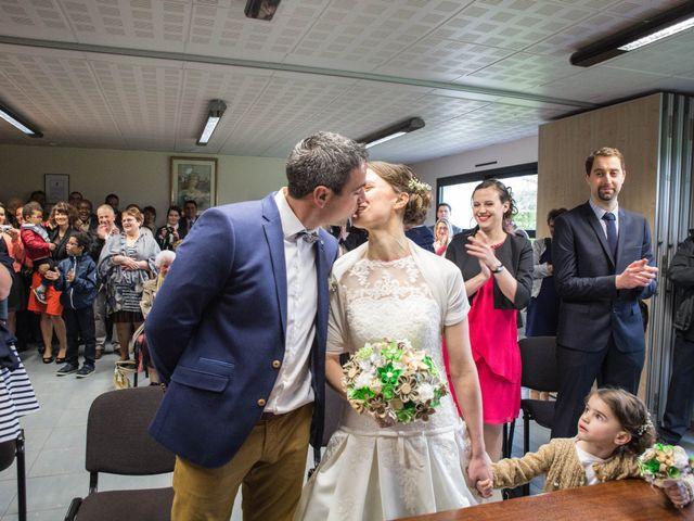 Le mariage de Clovis et Marie à Longèves, Vendée 4