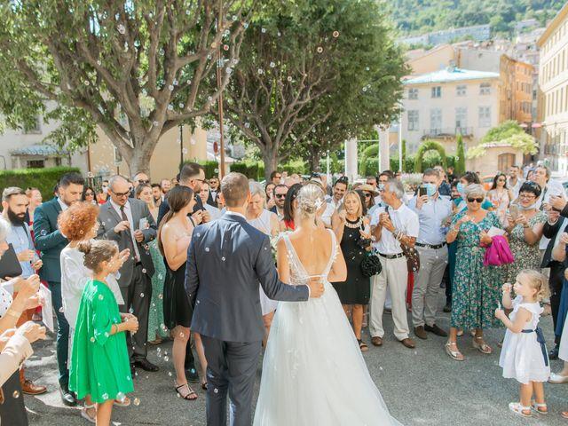 Le mariage de Victor et Emy à Grasse, Alpes-Maritimes 32