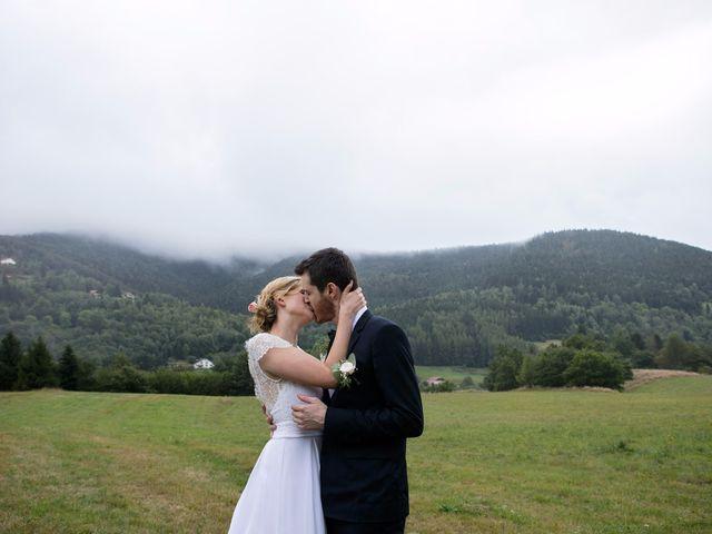 Le mariage de Alexis et Anaïs à Bussang, Vosges 32