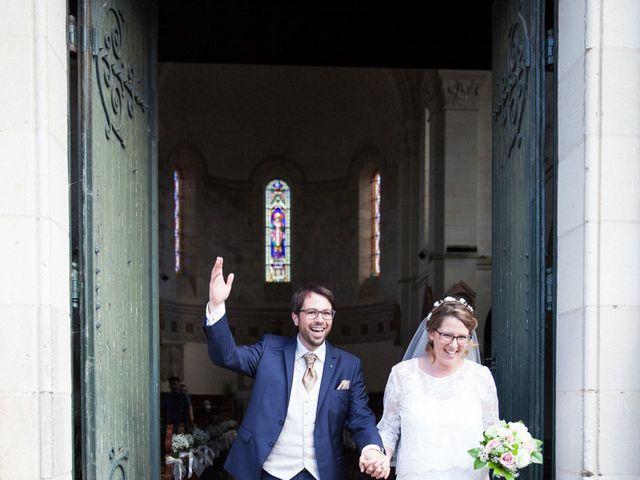Le mariage de Matthieu et Anne Charlotte à Bouillé-Ménard, Maine et Loire 20