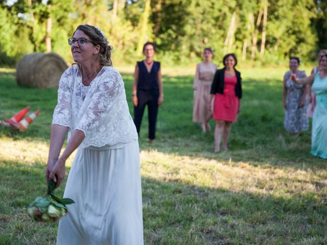 Le mariage de Matthieu et Anne Charlotte à Bouillé-Ménard, Maine et Loire 27