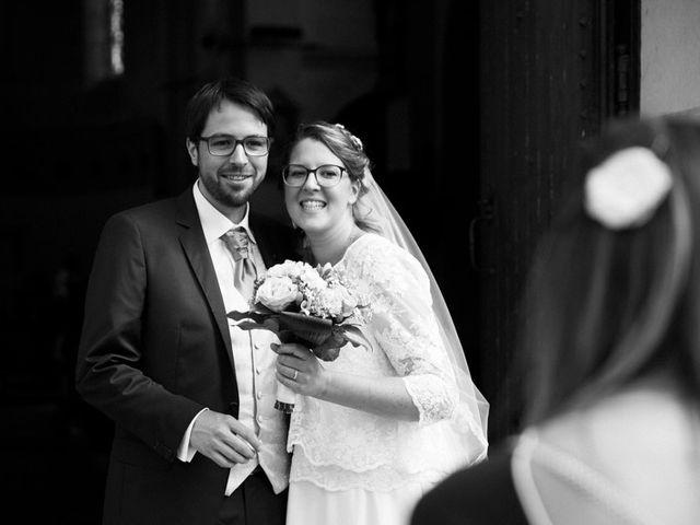 Le mariage de Matthieu et Anne Charlotte à Bouillé-Ménard, Maine et Loire 1