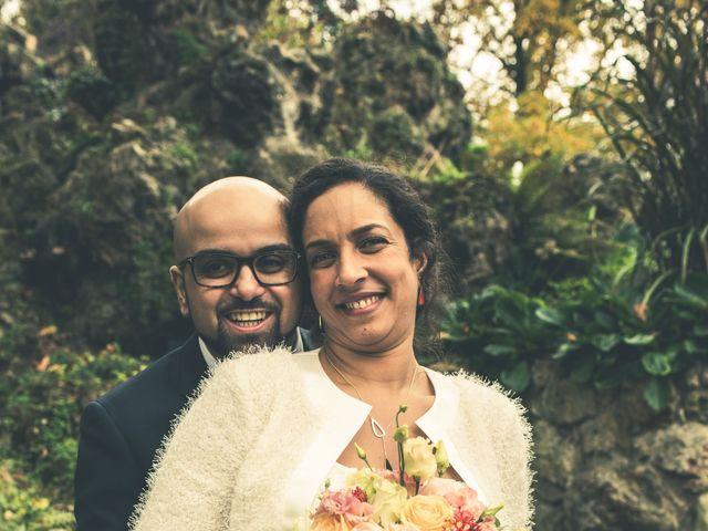Le mariage de Mohamed et Gladys à Paris, Paris 3