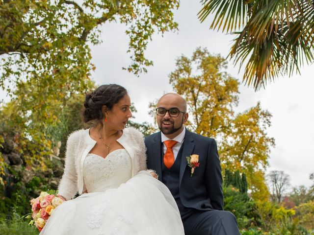 Le mariage de Mohamed et Gladys à Paris, Paris 5