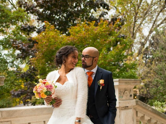 Le mariage de Mohamed et Gladys à Paris, Paris 13