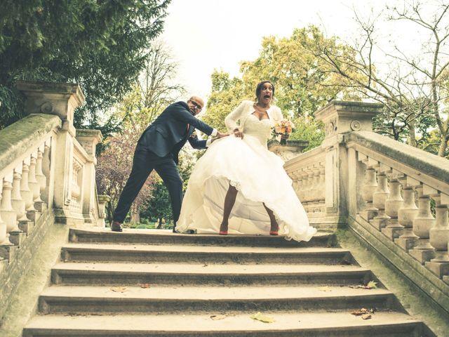 Le mariage de Mohamed et Gladys à Paris, Paris 18