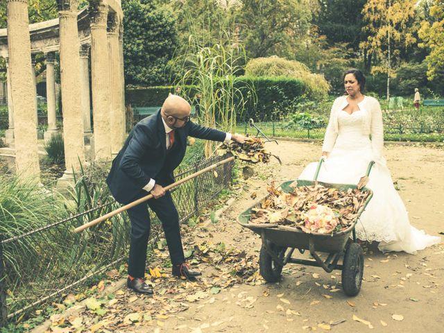 Le mariage de Mohamed et Gladys à Paris, Paris 38