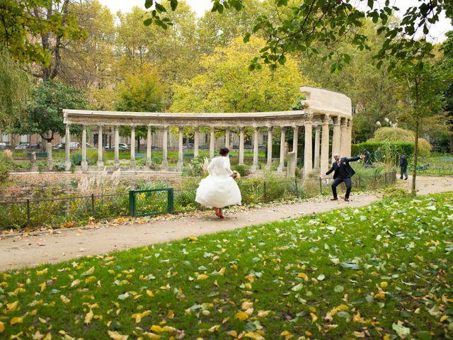 Le mariage de Mohamed et Gladys à Paris, Paris 42