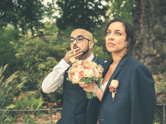 Le mariage de Gladys et Mohamed