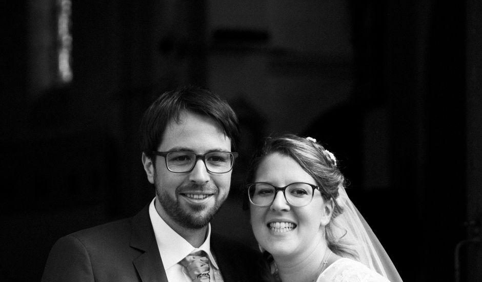 Le mariage de Matthieu et Anne Charlotte à Bouillé-Ménard, Maine et Loire