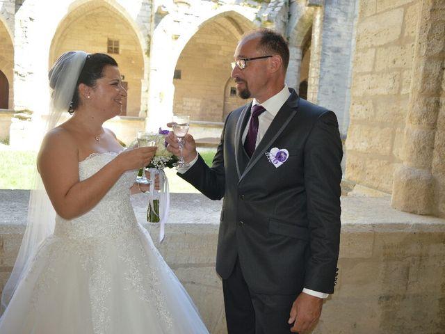 Le mariage de Christophe  et Ingrid à Villeneuve-les-Avignon, Gard 5