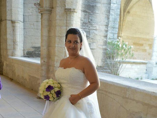 Le mariage de Christophe  et Ingrid à Villeneuve-les-Avignon, Gard 6