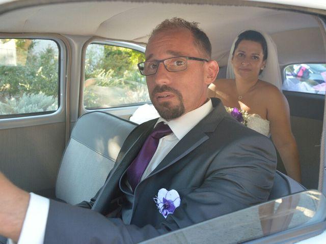 Le mariage de Christophe  et Ingrid à Villeneuve-les-Avignon, Gard 7