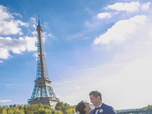 Le mariage de Aldrick et Hoda à Paris, Paris 4