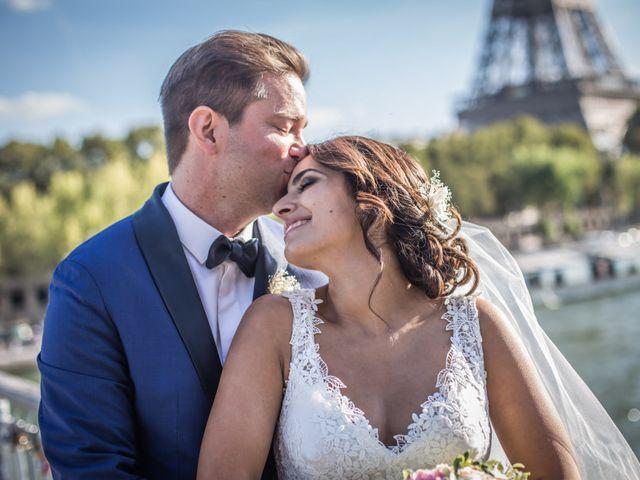 Le mariage de Aldrick et Hoda à Paris, Paris 6