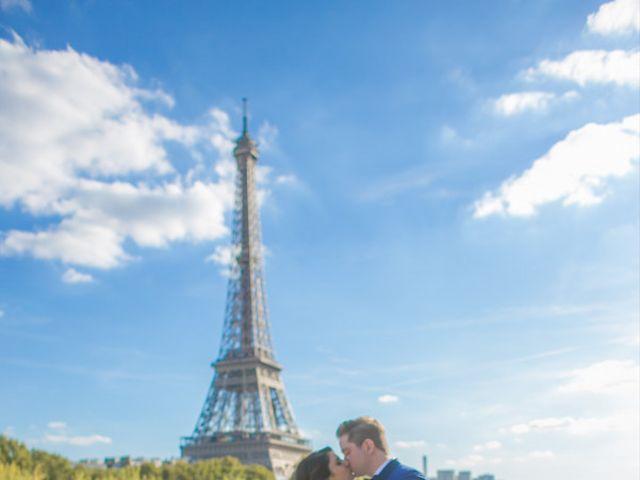 Le mariage de Aldrick et Hoda à Paris, Paris 8