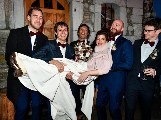 Le mariage de Severin et Agathe à La Clusaz, Haute-Savoie 15