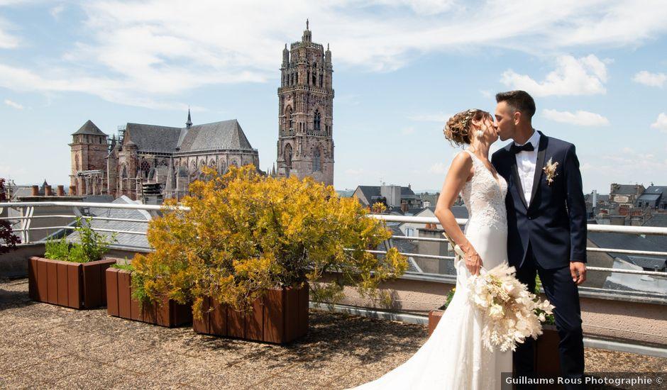 Le mariage de Loïc et Laure à Rodez, Aveyron