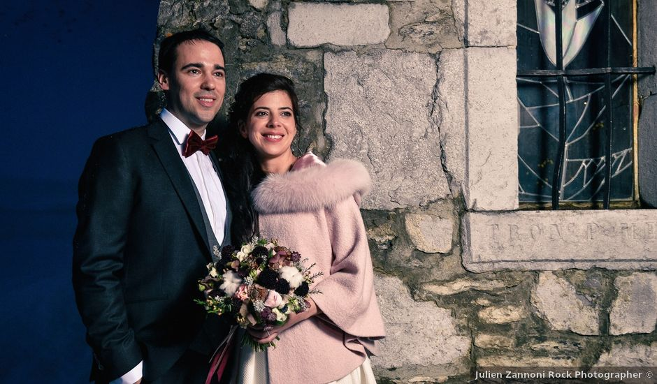 Le mariage de Severin et Agathe à La Clusaz, Haute-Savoie