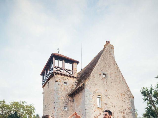 Le mariage de Thibault et Amandine à Franchesse, Allier 34
