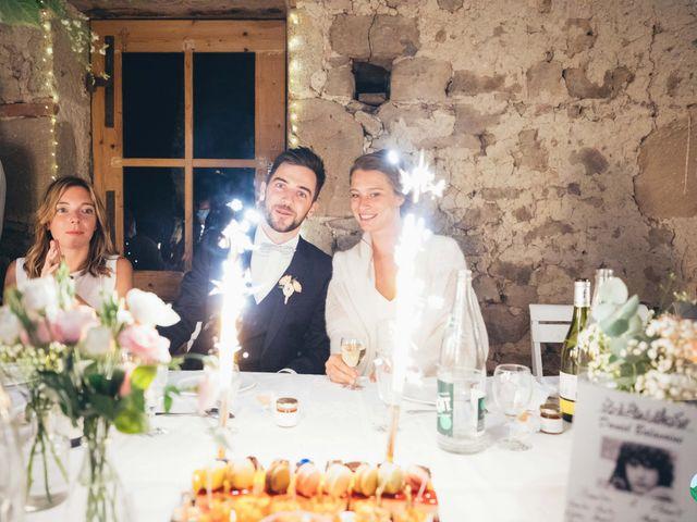 Le mariage de Thibault et Amandine à Franchesse, Allier 42