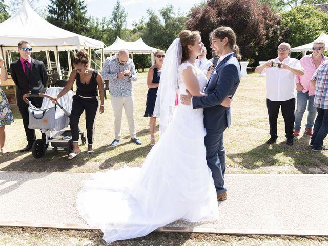 Le mariage de Hervé et Rosine à Ennordres, Cher 14