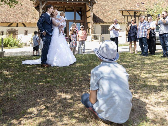 Le mariage de Hervé et Rosine à Ennordres, Cher 15