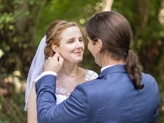 Le mariage de Hervé et Rosine à Ennordres, Cher 17