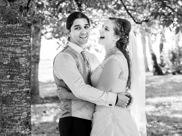 Le mariage de Hervé et Rosine à Ennordres, Cher 18
