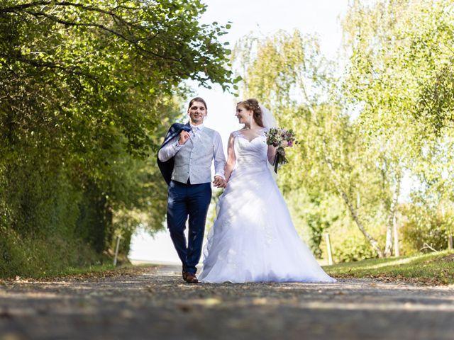 Le mariage de Hervé et Rosine à Ennordres, Cher 19