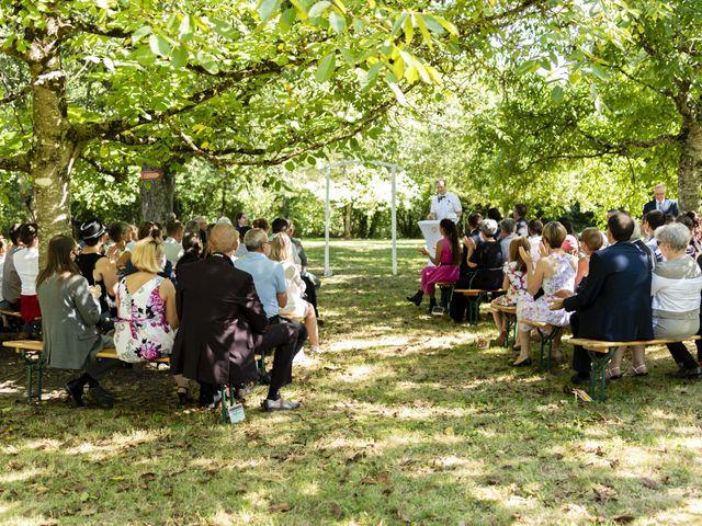 Le mariage de Hervé et Rosine à Ennordres, Cher 22