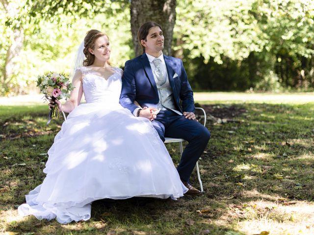 Le mariage de Hervé et Rosine à Ennordres, Cher 23